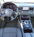 audi a8l 2006 gray sedan quattro awd gasoline 8 cylinders all whee drive automatic with overdrive 60462