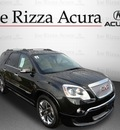 gmc acadia 2011 black suv denali awd gasoline 6 cylinders all whee drive automatic with overdrive 60462