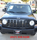 jeep patriot 2008 black suv sport gasoline 4 cylinders front wheel drive automatic 76051