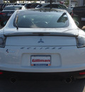 mitsubishi eclipse 2012 white hatchback gs gasoline 4 cylinders front wheel drive shiftable automatic 77090