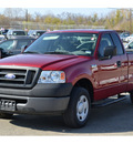 ford f 150 2008 red pickup truck xl gasoline 6 cylinders 2 wheel drive automatic 76801