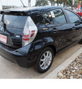 toyota prius c 2012 black hatchback three hybrid 4 cylinders front wheel drive automatic 78232