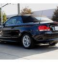 bmw 1 series 2008 black 128i gasoline 6 cylinders rear wheel drive automatic 77002