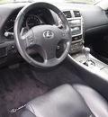 lexus is 250 2007 dk  gray sedan gasoline 6 cylinders rear wheel drive automatic 76018