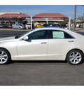 cadillac ats 2013 white sedan 2 0l performance gasoline 4 cylinders rear wheel drive automatic 76903