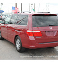 honda odyssey 2007 dk  red van ex gasoline 6 cylinders front wheel drive automatic 77008