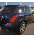 nissan murano 2004 dk  blue suv se gasoline 6 cylinders front wheel drive automatic 78729