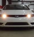 honda civic 2007 white coupe ex gasoline 4 cylinders front wheel drive automatic 79110