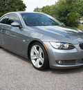 bmw 3 series 2008 gray coupe 335i gasoline 6 cylinders rear wheel drive automatic 27616