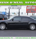 chrysler 300 2009 black sedan touring gasoline 6 cylinders rear wheel drive automatic 79110