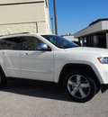 jeep grand cherokee 2012 white suv overland gasoline 6 cylinders 2 wheel drive automatic 76011