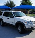ford explorer 2006 white suv xlt gasoline 6 cylinders rear wheel drive 5 speed automatic 76206