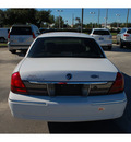 mercury grand marquis 2007 white sedan gs flex fuel 8 cylinders rear wheel drive 4 speed automatic 77090