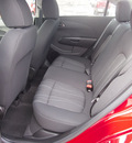 chevrolet sonic 2013 red sedan lt gasoline 4 cylinders front wheel drive 6 spd auto mylink touch lpo,cargo net 77090