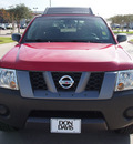 nissan xterra 2008 red suv gasoline 6 cylinders 2 wheel drive automatic with overdrive 76018