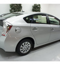 toyota prius 2012 silver hatchback plug in hybrid advanced i 4 cylinders front wheel drive automatic 91731