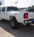 chevrolet silverado 3500hd 2012 white work truck diesel 8 cylinders 4 wheel drive automatic 77304