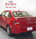 ford focus 2010 red sedan ses gasoline 4 cylinders front wheel drive not specified 75020
