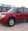 ford escape 2012 red suv xls gasoline 4 cylinders front wheel drive automatic 76011