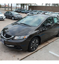 honda civic 2013 black sedan ex gasoline 4 cylinders front wheel drive automatic 77339