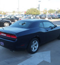 dodge challenger 2013 blue coupe sxt flex fuel 6 cylinders rear wheel drive automatic 76051