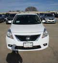 nissan versa 2013 sedan 1 6 sl gasoline 4 cylinders front wheel drive cont  variable trans  75150