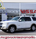 ford explorer 2006 white suv eddie bauer gasoline 6 cylinders 4 wheel drive automatic 79119