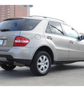 mercedes benz m class 2007 dk  gray suv ml350 gasoline 6 cylinders 4 wheel drive automatic 77002