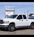 dodge ram pickup 1500 2008 white st gasoline 8 cylinders 4 wheel drive automatic 79065