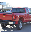 chevrolet silverado 2500hd 2011 red ltz diesel 8 cylinders 4 wheel drive automatic 76401