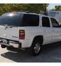 chevrolet tahoe 2002 white suv lt flex fuel 8 cylinders rear wheel drive automatic 78501