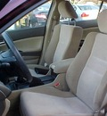 honda accord 2009 red sedan lx p gasoline 4 cylinders front wheel drive manual 06019