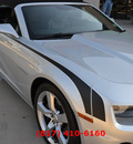 chevrolet camaro 2012 silver ss gasoline 8 cylinders rear wheel drive automatic 76051