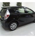 toyota prius c 2012 black hatchback two hybrid 4 cylinders front wheel drive automatic 91731