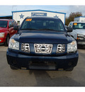 nissan titan 2006 dk  blue se ffv flex fuel 8 cylinders rear wheel drive automatic with overdrive 77627