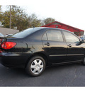 toyota corolla 2007 black sedan ce gasoline 4 cylinders front wheel drive automatic 76543