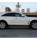 infiniti fx35 2009 white suv gasoline 6 cylinders rear wheel drive automatic 77002