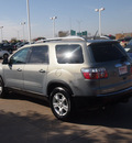 gmc acadia 2008 lt  blue suv sle 1 gasoline 6 cylinders front wheel drive automatic 76053