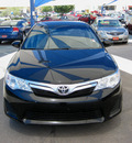 toyota camry 2012 black sedan gasoline 4 cylinders front wheel drive automatic 79936