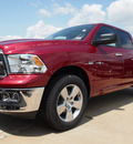 ram 1500 2012 deep cherry red lone star gasoline 8 cylinders 2 wheel drive 6 speed automatic 77521