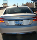 chrysler 200 2012 silver sedan touring gasoline 4 cylinders front wheel drive automatic 79936