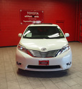 toyota sienna 2011 white van limited 7 passenger gasoline 6 cylinders front wheel drive automatic 76116