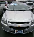 chevrolet malibu 2011 silver sedan gasoline 4 cylinders front wheel drive automatic 13502