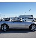 jaguar xk series 2001 silver xk8 8 cylinders automatic 78626