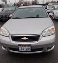 chevrolet malibu 2006 silver sedan lt 6 cylinders automatic 99336