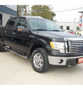 ford f 150 2010 black xlt flex fuel 8 cylinders 4 wheel drive automatic with overdrive 77706