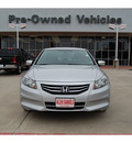 honda accord 2011 silver sedan se gasoline 4 cylinders front wheel drive automatic with overdrive 77642