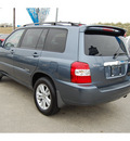 toyota highlander hybrid 2007 lt  blue suv limited hybrid 6 cylinders front wheel drive automatic with overdrive 77627