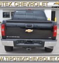 chevrolet silverado 1500 2013 black ltz flex fuel 8 cylinders 4 wheel drive automatic 78521