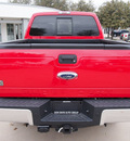 ford f 250 super duty 2013 red lariat biodiesel 8 cylinders 4 wheel drive automatic 76011